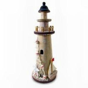 Breakwater Bay Cyprian Wooden Lighthouse